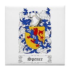 Spence II [English] Tile Coaster