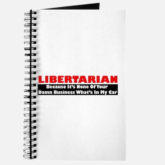 Libertarian Because Journal