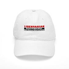 Libertarian Because Baseball Cap