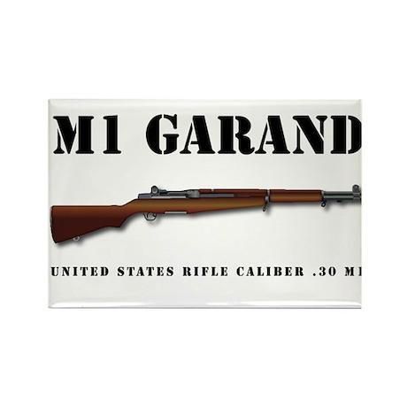 M1 Garand Rectangle Magnet
