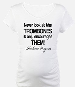 Wagner Trombone Quote Shirt