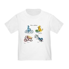 Dogs on Bikes T