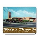 Hody's Drive-In Mousepad