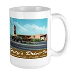 Hody's Drive-In Large Mug