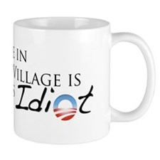 Obama, Kenyan Idiot Small Mug