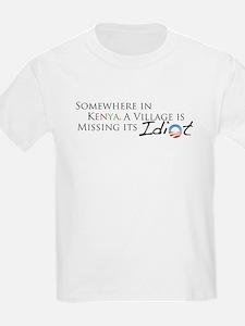 Obama, Kenyan Idiot T-Shirt