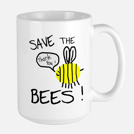 Save the Bees Large Mug