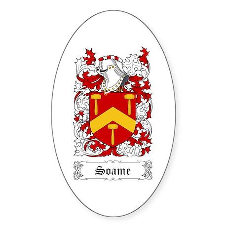 Soame Sticker (Oval)