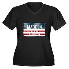 Patriotic Women's Plus Size Scoop Neck DK T-Shirt