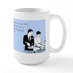 Meeting You Large Mug