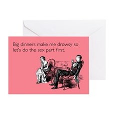 Sex Part First Greeting Card