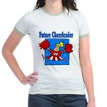 Future Cheeleader Jr. Ringer T-Shirt