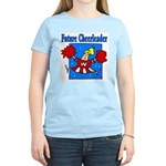 Future Cheeleader Women's Pink T-Shirt