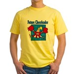 Future Cheeleader Yellow T-Shirt