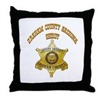 Graham County Sheriff Throw Pillow