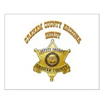 Graham County Sheriff Small Poster