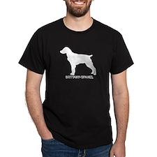 """Brittany Spanial"" - Black T-Shirt"