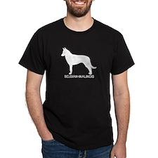 """""""Belgian-Malinois"""" - Black T-Shirt"""