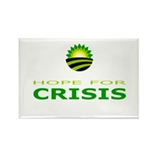 hope for crisis Rectangle Magnet