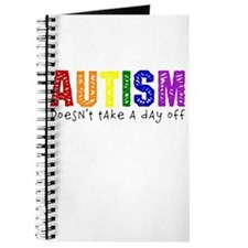 Autism Doesnt Take Day Off Journal