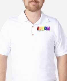 Autism Doesnt Take Day Off T-Shirt
