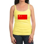 China Chinese Blank Flag Jr. Spaghetti Tank