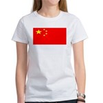 China Chinese Blank Flag Women's T-Shirt