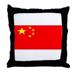 China Chinese Blank Flag Throw Pillow