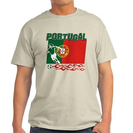 Portuguese soccer Light T-Shirt