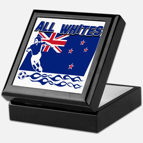 All Whites New Zealand soccer Keepsake Box