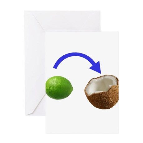 Put the Lime In the Coconut Greeting Cards