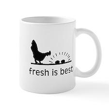 Fresh is Best /Chicken & Egg Mug