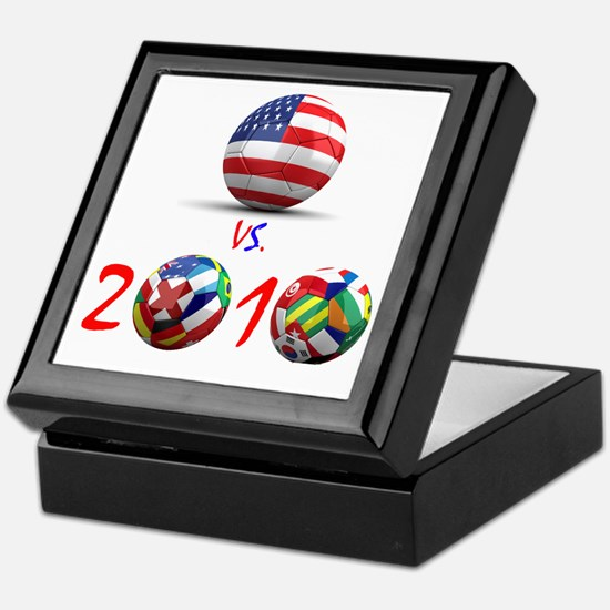 USA vs The World 2010 Keepsake Box