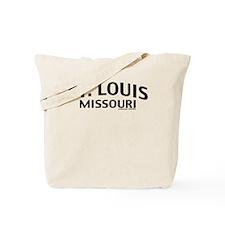 St Louis Missouri Tote Bag