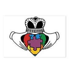 Spectrum Claddagh Postcards (Package of 8)