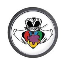 Spectrum Claddagh Wall Clock