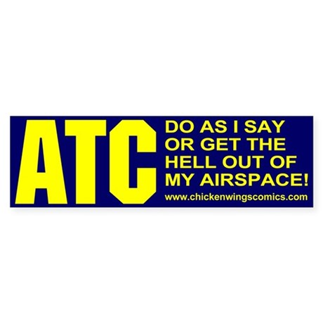 ATC Bumper Sticker