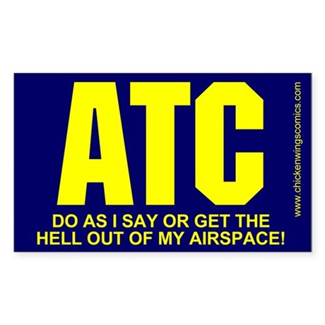 ATC Sticker (Rectangle)