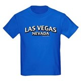 Las vegas Kids T-shirts (Dark)