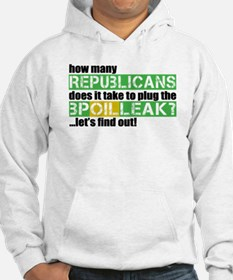 BP Oil Spill Humor Jumper Hoody
