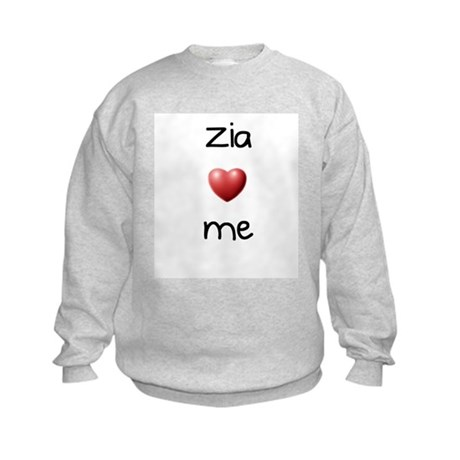 Zia Loves Me Kids Sweatshirt