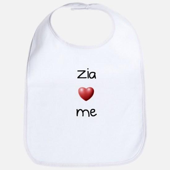 Zia Loves Me Bib