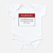 Everything Said... Jo Infant Bodysuit