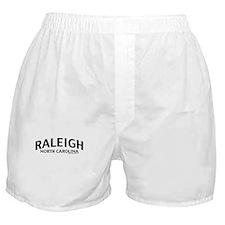 Raleigh North Carolina Boxer Shorts