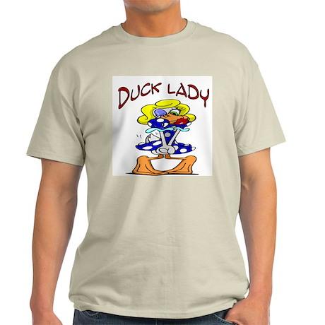 Ducky Lady Ash Grey T-Shirt