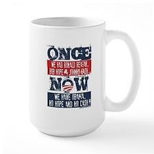 Obama, No Hope, No Cash (large) Mugs