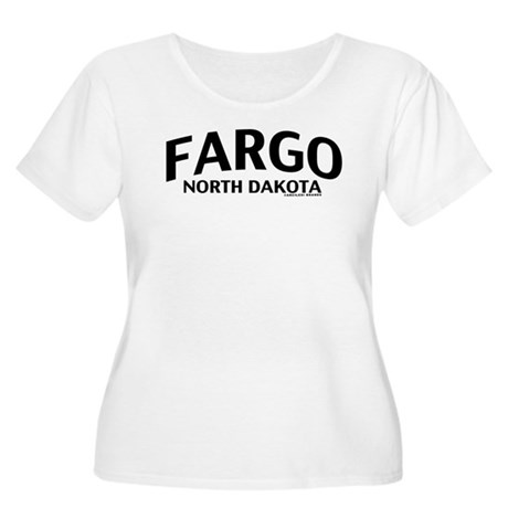 Fargo North Dakota Women's Plus Size Scoop Neck T-