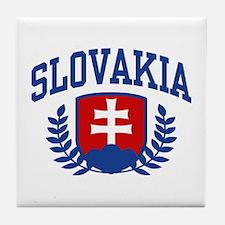 Slovakia Tile Coaster