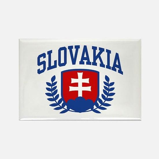 Slovakia Rectangle Magnet