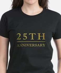 25th Anniversary Gold Shadowed Tee